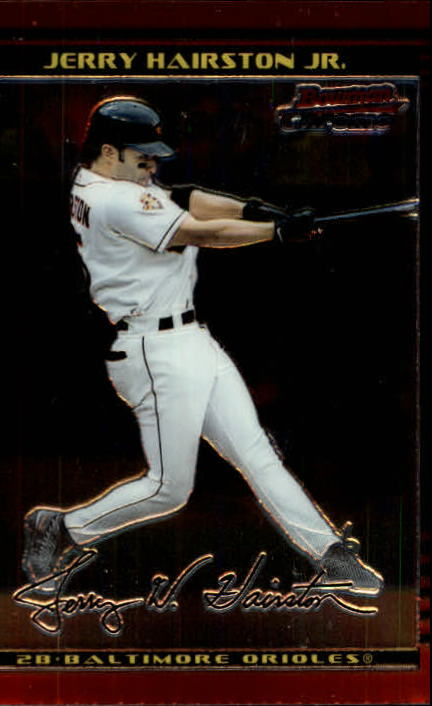 2002 Bowman Chrome #22 Jerry Hairston Jr.