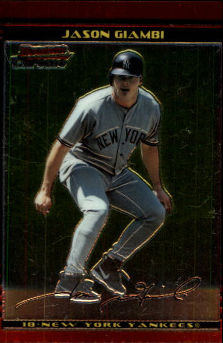 2002 Bowman Chrome #25 Jason Giambi