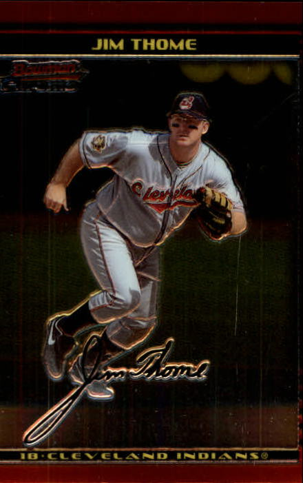 2002 Bowman Chrome #50 Jim Thome