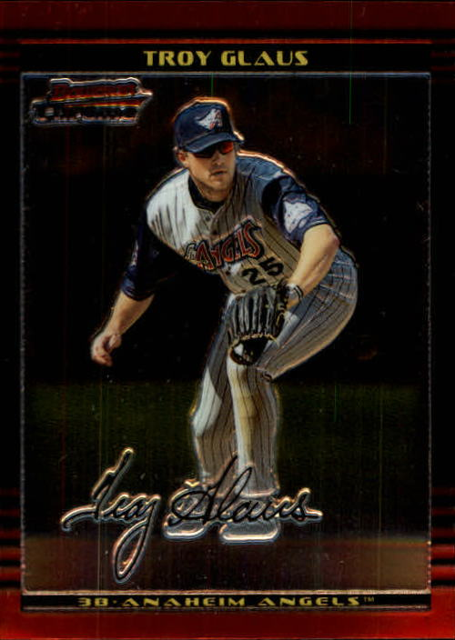 2002 Bowman Chrome #58 Troy Glaus