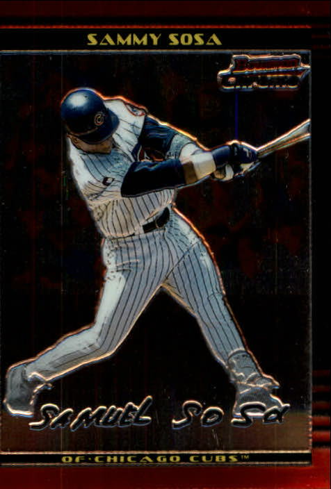 2002 Bowman Chrome #66 Sammy Sosa