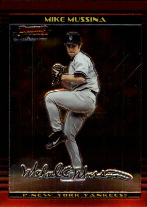 2002 Bowman Chrome #70 Mike Mussina