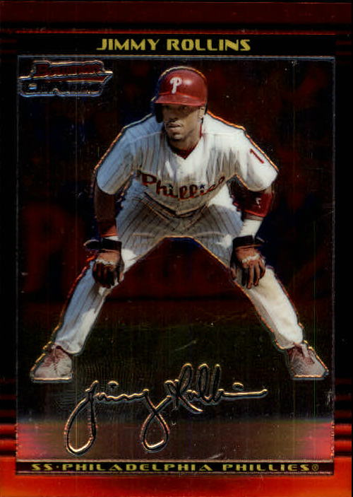 2002 Bowman Chrome #72 Jimmy Rollins