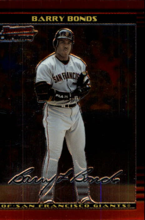 2002 Bowman Chrome #73 Barry Bonds