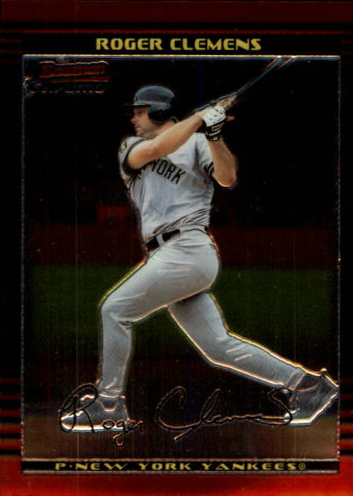 2002 Bowman Chrome #76 Roger Clemens