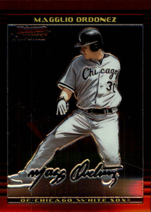 2002 Bowman Chrome #91 Magglio Ordonez