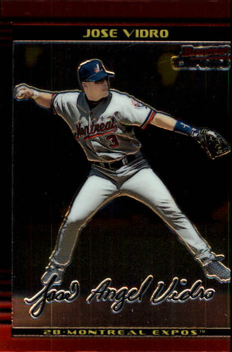 2002 Bowman Chrome #99 Jose Vidro
