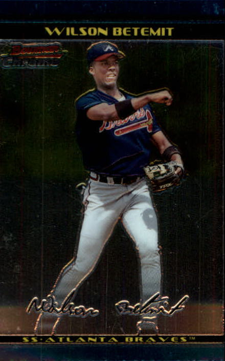 2002 Bowman Chrome #111 Wilson Betemit