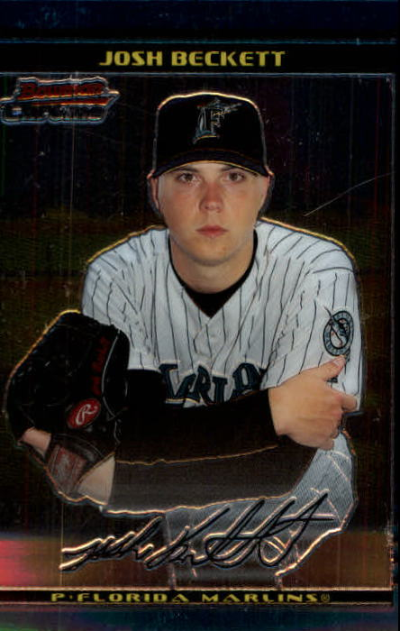 2002 Bowman Chrome #115 Josh Beckett