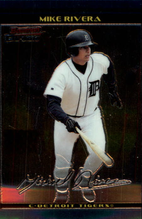 2002 Bowman Chrome #119 Mike Rivera