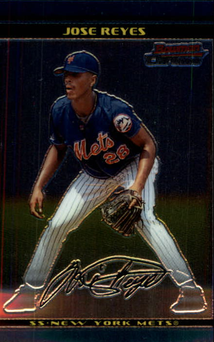 2002 Bowman Chrome #124 Jose Reyes