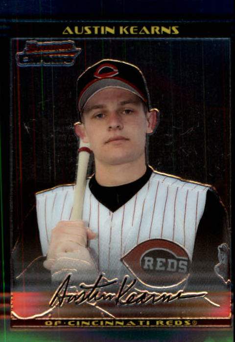 2002 Bowman Chrome #128 Austin Kearns