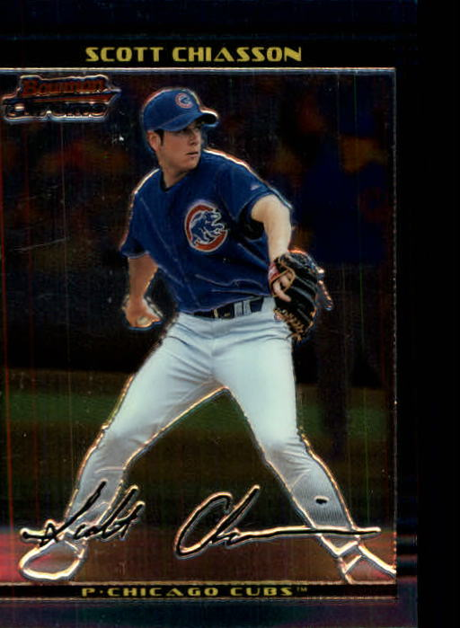 2002 Bowman Chrome #130 Scott Chiasson