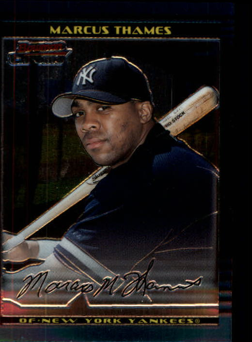 2002 Bowman Chrome #132 Marcus Thames