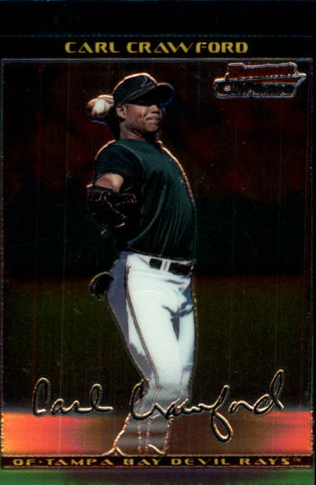 2002 Bowman Chrome #237 Carl Crawford