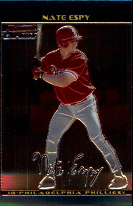 2002 Bowman Chrome #255 Nate Espy SP RC