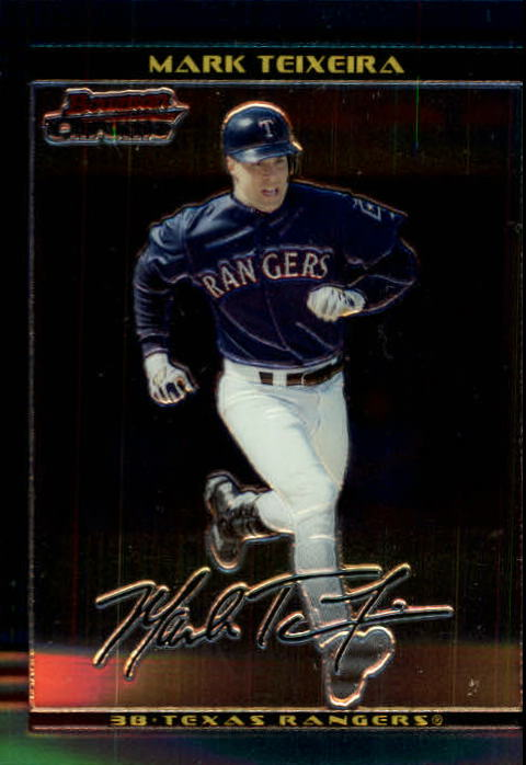 2002 Bowman Chrome #309 Mark Teixeira
