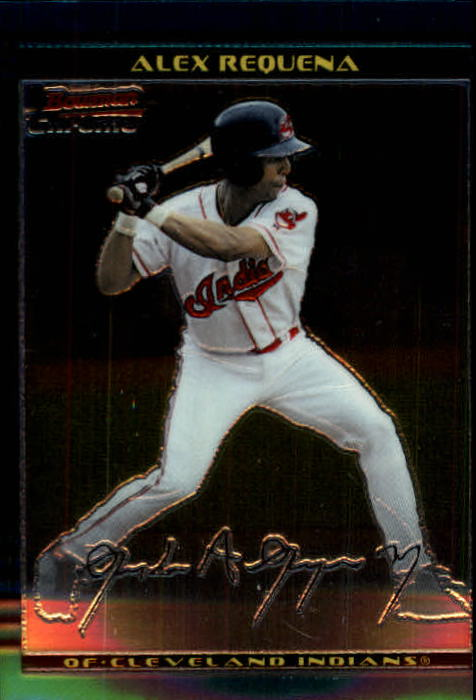 2002 Bowman Chrome #315 Alex Requena SP RC