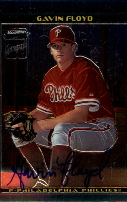 2002 Bowman Chrome #396 Gavin Floyd AU A RC