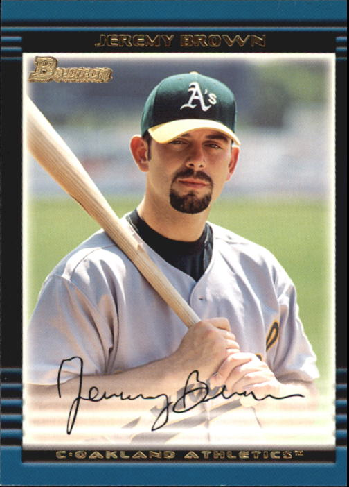 2002 Bowman Draft #BDP35 Jeremy Brown RC