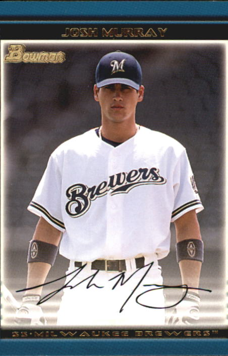 2002 Bowman Draft #BDP48 Josh Murray RC