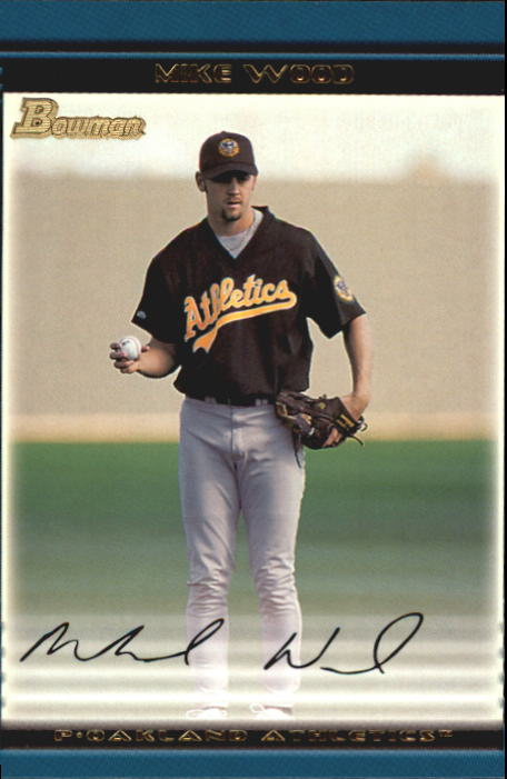 2002 Bowman Draft #BDP115 Mike Wood RC