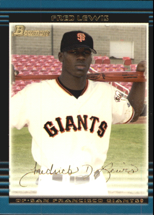 2002 Bowman Draft Gold #BDP2 Fred Lewis