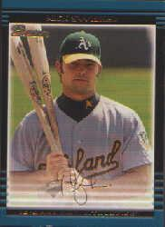 2002 Bowman Draft Gold #BDP16 Nick Swisher