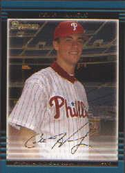 2002 Bowman Draft Gold #BDP17 Cole Hamels