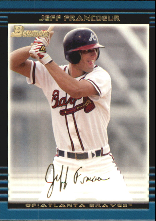 2002 Bowman Draft Gold #BDP23 Jeff Francoeur
