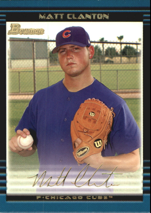 2002 Bowman Draft Gold #BDP38 Matt Clanton