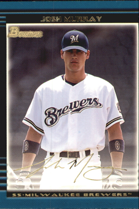 2002 Bowman Draft Gold #BDP48 Josh Murray