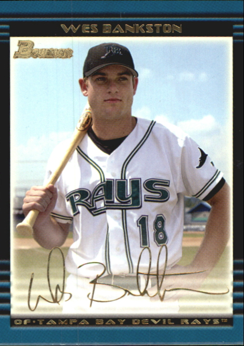 2002 Bowman Draft Gold #BDP86 Wes Bankston