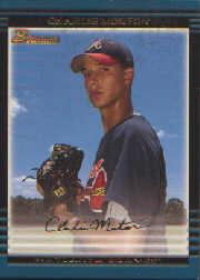 2002 Bowman Draft Gold #BDP91 Charlie Morton