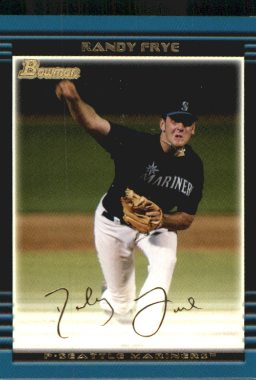 2002 Bowman Draft Gold #BDP97 Randy Frye