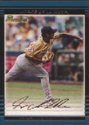 2002 Bowman Draft Gold #BDP144 Jorge De La Rosa