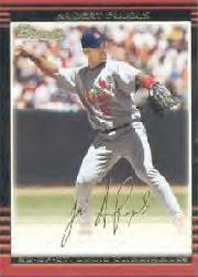 2002 Bowman Gold #15 Albert Pujols