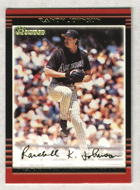 2002 Bowman Gold #105 Randy Johnson