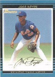 2002 Bowman Gold #124 Jose Reyes