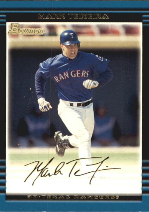 2002 Bowman Gold #365 Mark Teixeira