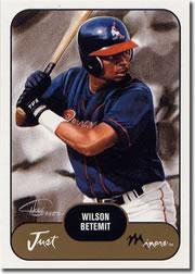 2002 Just Prospects #3 Wilson Betemit