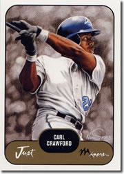 2002 Just Prospects #8 Carl Crawford