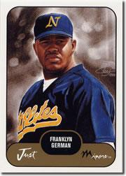 2002 Just Prospects #13 Franklyn German
