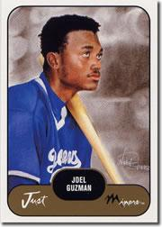 2002 Just Prospects #18 Joel Guzman