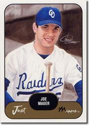 2002 Just Prospects #21 Joe Mauer