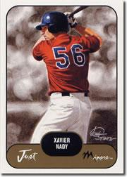 2002 Just Prospects #24 Xavier Nady