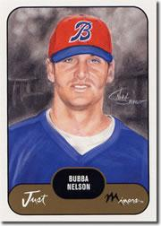 2002 Just Prospects #27 Bubba Nelson