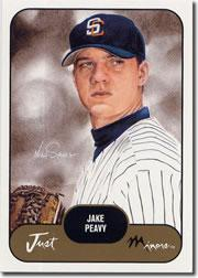 2002 Just Prospects #29 Jake Peavy