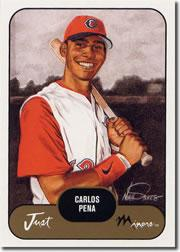 2002 Just Prospects #30 Carlos Pena