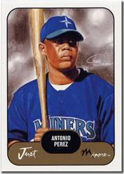 2002 Just Prospects #31 Antonio Perez
